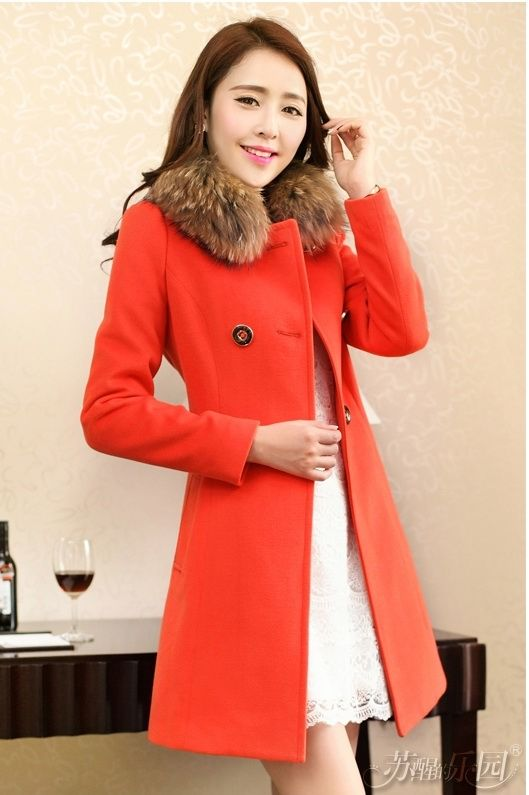 LONG COAT KOREA - JAKET BULU KOREA
