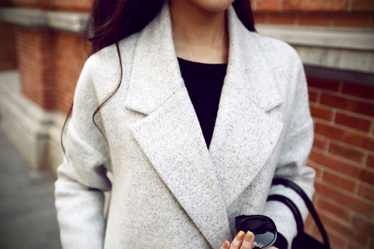 LONG COAT KOREA BIG SIZE - JAKET MUSIM DINGIN ORIGINAL RJ STORY