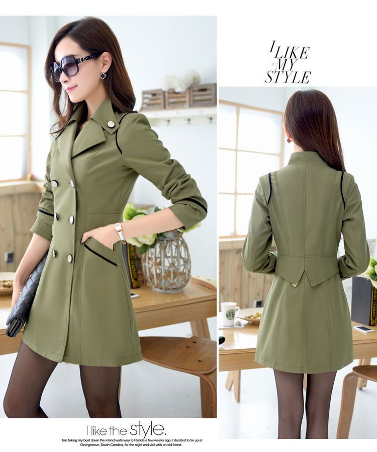 BLAZER WANITA KORE MODEL TERBARU - LONG COAT KOREA