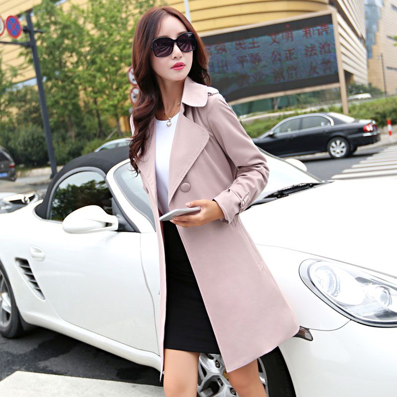 BLAZER MODERN WANITA KOREA - LONG COAT KOREA BIG SIZE