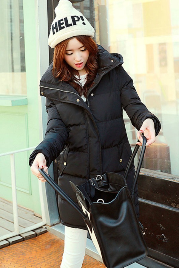 JAKET MUSIM DINGIN - WINTER LONG COAT KOREA