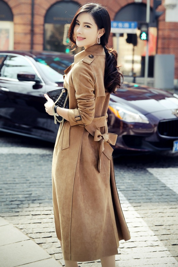 LONG COAT WANITA KOREA - COAT KOREA ASLI RJ STORY