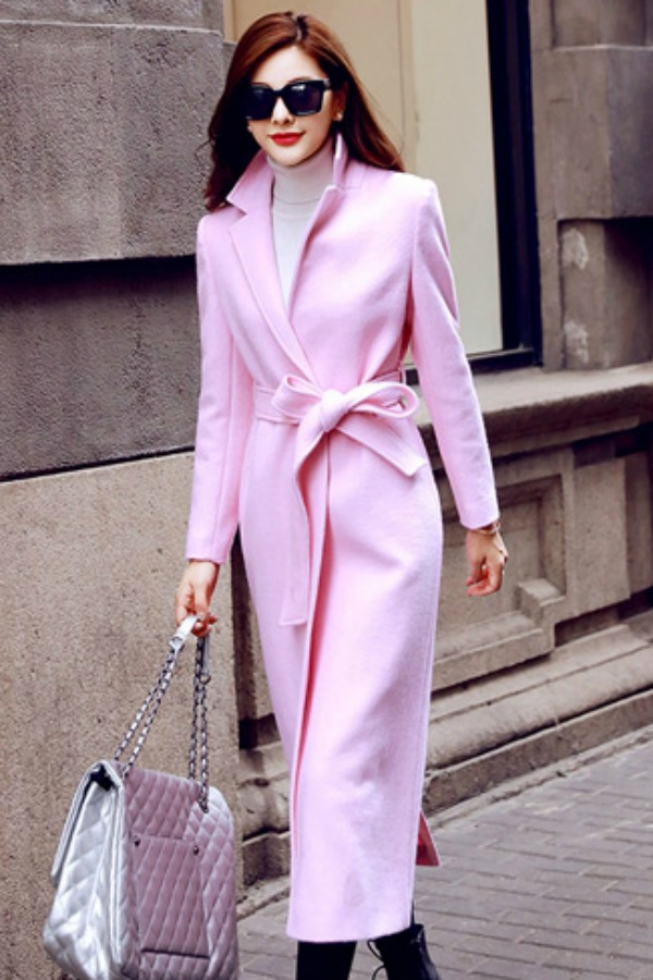 LONG COAT KOREA - JAKET IMPORT WANITA KOREA