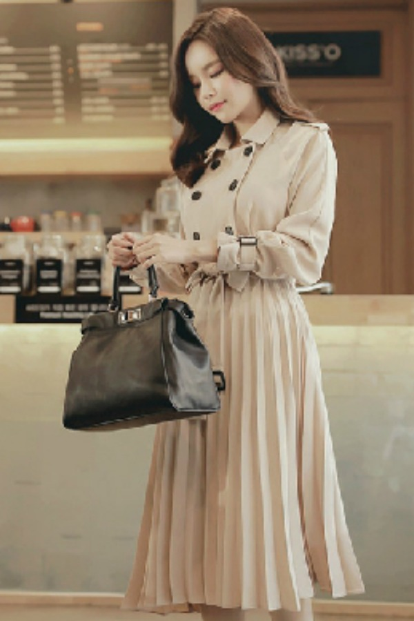 BUSANA FORMAL WANITA - BLAZER IMPORT WANITA - LONG COAT KOREA