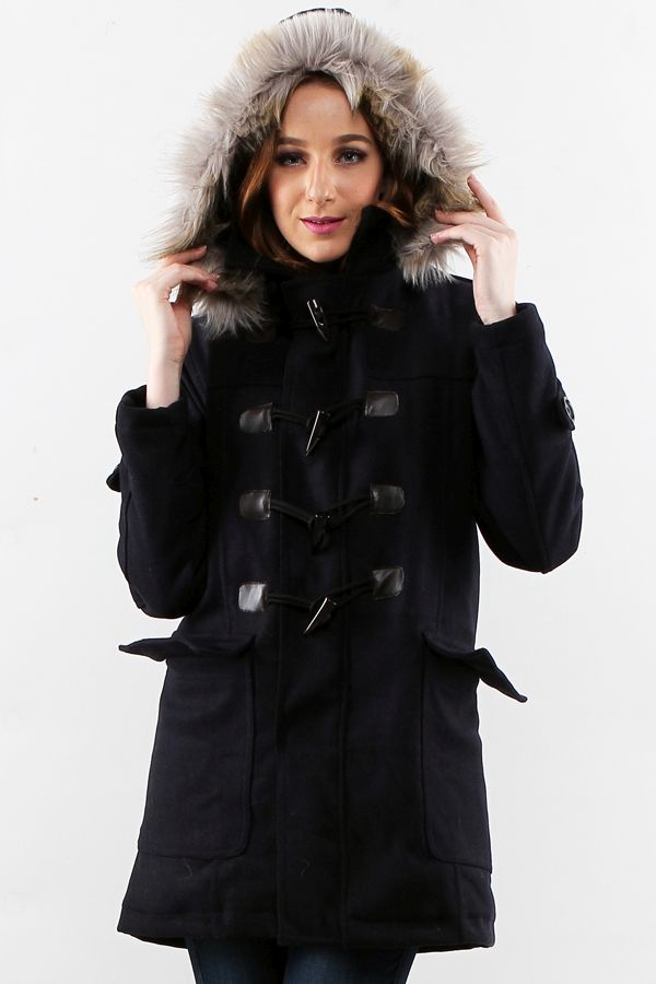 JAKET BULU MUSIM DINGIN - LONG COAT IMPORT