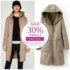 JAKET KULIT CASHMERE REVERSIBLE – LONG COAT KOREA BIG SIZE BOLAK BALIK (JYB45613)